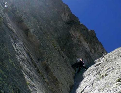 PYRENEES: Pic de Lezat West Ridge+ Pic des Spijeoles dihedral route